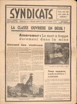 """Syndacats"" - 18 ago. 1956"